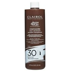 Clairol Soy 4 Plex Clairoxide Clear Developer 30 Volume 16 oz  $2.69   Visit www.BarberSalon.com One stop shopping for Professional Barber Supplies, Salon Supplies, Hair & Wigs, Professional Product. GUARANTEE LOW PRICES!!! #barbersupply #barbersupplies #salonsupply #salonsupplies #beautysupply #beautysupplies #barber #salon #hair #wig #deals #sales #clairol #soy4plex #clairoxide #clear #developer #30volume