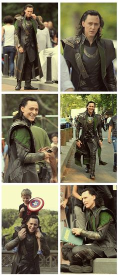 """You know how excited I would be if I saw Loki walking around? I'd have to say hello, despite the fact he's a """"villain!"""" Tom Hiddleston is freaking awesome!!!"""