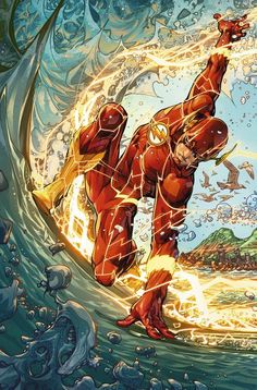 The Flash Comic Issue 55 Limited Variant Modern Age First Print Williamson DC Curated by Marvel Dc Comics, Marvel Fanart, Flash Comics, Dc Comics Art, Enchantress Dc Comics, Flash Comic Book, Comic Books Art, Comic Art, Comic Movies