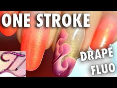 Tuto nail art One Stroke drapé fluo Spring Nail Colors, Spring Nails, Color Club, Youtube Nail Art, Nail Art Designs, One Stroke Nails, Fall Acrylic Nails, Instagram Nails, Christmas Nail Designs