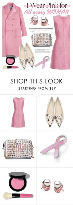 """""""I wear pink for every WOMAN"""" by pearlparadise on Polyvore featuring Balenciaga, Sophia Webster, Bling Jewelry and Bobbi Brown Cosmetics"""