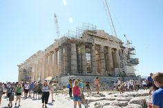 Parthenon in Athens, Greece.