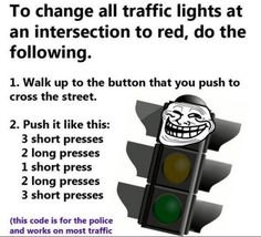 I wonder if this would actually work? It would be awesome if it did! Cause it sure sucks when you press that button a million times and it never says WALK!