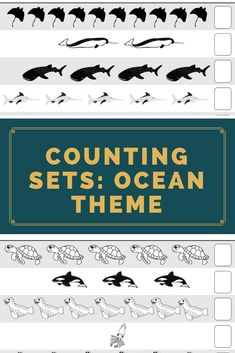 Let your students have fun with our Ocean Theme Counting Sets Practice Sheets. This include 10 counting practice sheets Counting practice sheets for Numbers The file is in PDF Format. School Resources, Classroom Resources, Learning Resources, Classroom Ideas, Behavior Management Strategies, Reading Strategies, Teaching Posts, Teaching Ideas, Primary Classroom