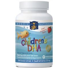 I've bought this brand. If your child doesn't like sour things it may not work for them, but they are quite tasty.    it tells you exactly how much DHA is in it, it does not taste like fish, no after taste, no burping fishy taste afterwards either :) .....the pills are a bit larger than regular but they go down easy. $35