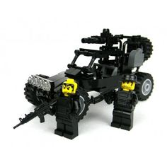 Navy Seal's Desert Patrol Vehicle Made With Real LEGO(R) Bricks