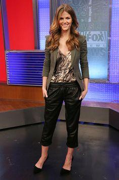 brooklyn decker wearing marissa webb genevieve blazer on fox tv
