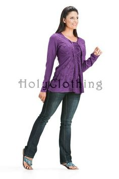 Shop Monique Classic Chic Boho Blouse In Purple Passion: http://holyclothing.com/index.php/monique-classic-gypsy-chic-embroidery-boho-flowing-blouse-tunic.html From $29.99. Repins are always appreciated :) #holyclothing #fashion