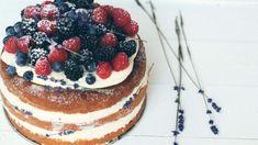 Cherries on Top: Je vás tisíc! A recept na naked cake k tomu :) Cherry On Top, Tiramisu, Cake Recipes, Sweet Treats, Naked, Cheesecake, Fresh, Cookies, Baking