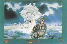 Jade Sea by Roger Dean