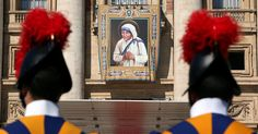 """The canonization on Sunday morning honors a lifetime working with """"the poorest…"""