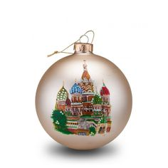 Russia, Part of the Around The World Collection, Weight 3 lbs, Ornament Size 4 in Christmas Balls, Christmas Time, Merry Christmas, Christmas Ornaments, Holiday, Russian Icons, Russian Art, Beautiful Architecture, Art And Architecture
