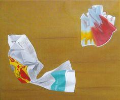 your terms by Anita von Bibra - oil on canvas