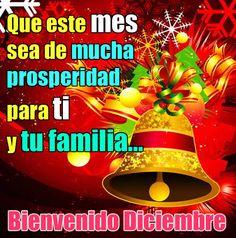 Bienvenido diciembre que este mes sea de mucha prosperidad para ti y tu familia. La prosperidad es el desarrollo favorable, especialmente en el aspecto eco