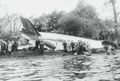 WASHINGTON D.C. 1 November 1949 - Eastern Air Lines Flight 537 collided with a…
