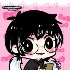 Chibi Tokyo Ghoul, Kaneki, Manga Art, Avatar, Cool Art, Cute, Character, Paintings, Paint