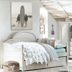 Rosenberry Rooms has everything imaginable for your child's room! Share the news and get $20 Off  your purchase! (*Minimum purchase required.) Ella Westport Panel Twin Day Bed #rosenberryrooms