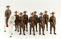 Heyde, Elastolin, Pfeiffer Rough Riders Toy Soldiers. | eBay