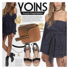 """YOINS: Mysterious blue"" by an1ta ❤ liked on Polyvore"