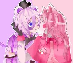Resultado de imagen para FIVE NIGHTS AT FREDDY'S SISTER LOCATION version anime