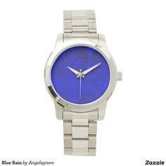 Blue Rain Armbanduhr