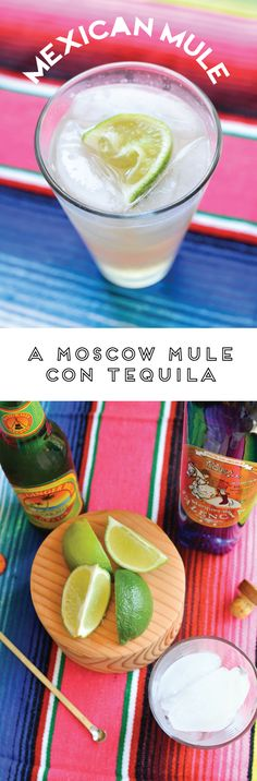 The best Mexican Mule recipe! If you love Moscow Mules, you'll love this tequila variation!