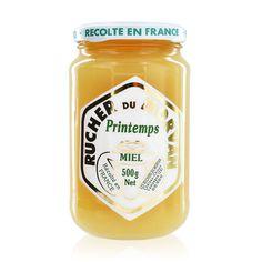 Découvrez notre onctueux et crémeux miel de printemps particulièrement parfumé ! #tresorsdesregions #savoirfaire #terroir #ruchersdumorvan #produitsregionaux