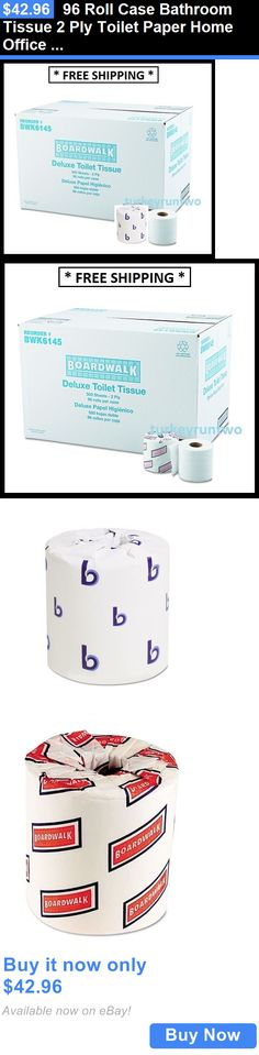wholesale Bath and Body: 96 Roll Case Bathroom Tissue 2 Ply Toilet Paper Home Office Business Durable Lot BUY IT NOW ONLY: $42.96
