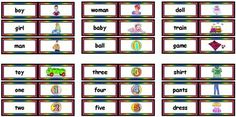Free Fry Flashcards Picture Nouns Sight Words for Teachers