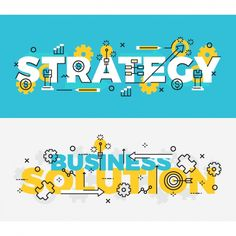 Business banners set Free Vector