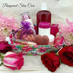 Mother's Day Classic Gift Set with Pure Rosewater - limited time offer....