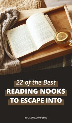 Whether you're looking to decorate or whether you just like to look at cozy reading places, we're bringing you an amazing list of reading nooks for you to enjoy.     #reading #nooks #books #places #cozy #decoration I Love Books, Great Books, Library Inspiration, World Of Books, Cozy Cabin, Reading Nooks, Book Lovers, Book Worms, Decorating Ideas