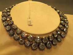 an amazing diamond necklace from the collection of mrs. charles wrightsman