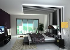 3 All Time Best Useful Tips: False Ceiling Bedroom Gray false ceiling design layout.False Ceiling Design For Passage. Fall Ceiling Designs Bedroom, Bedroom Pop Design, Ceiling Design Living Room, False Ceiling Living Room, Bed In Living Room, Modern Bedroom Decor, Living Room Designs, Bed Room, Bedroom Designs