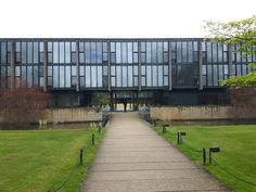 St Catherine's College Oxford by Arne Jacobsen