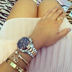 Today S Details Cotton Candy Skirt Michael Kors Watch Double Arrow Bangle With Diamontes 29 Infinity Love Bracelet 10 Cartier Inspired 25