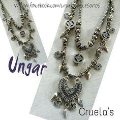 Collar Ungar..by Cruelasaccesorios