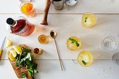 Whiskey Peach Smash , a recipe on Food52