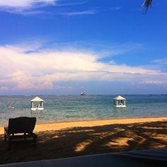 Beach of puri santrian - Sanur, Bali