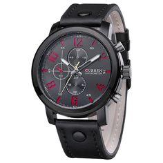 Curren Men's Sports Quartz Watches
