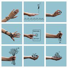 My Hand, Collage | Flickr: Intercambio de fotos #Veronik@ GR