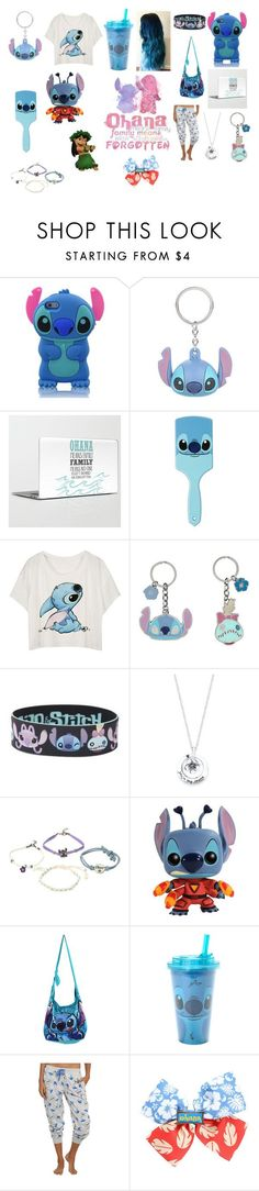 """lilo and stitch"" by sarahbelleb on Polyvore featuring Disney, women's clothing, women, female, woman, misses and juniors"