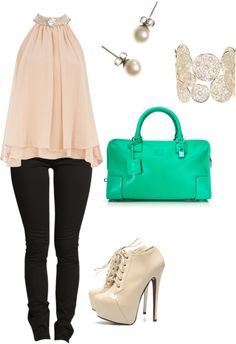 """""""cute pink"""" by angele-veilleux on Polyvore"""
