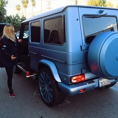 Finished up this all matte baby blue G wagon - https://www.stickercity.com/latest-projects/finished-up-this-all-matte-baby-blue-g-wagon