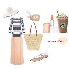 """Summertime"" by #ghirlandadipopcorn on Polyvore"