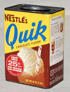 Nestle's Quik, 1960's | Explore Roadsidepictures' photos on … | Flickr - Photo Sharing!