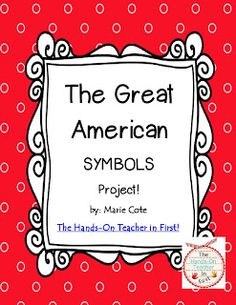 The Hands-On Teacher: A Friday FREEBIE! {American Symbols Fun!}