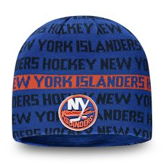 finest selection b8b76 8ccdb Men s New York Islanders Fanatics Branded Royal Orange Authentic Pro  Rinkside Knit Beanie, Your Price   27.99