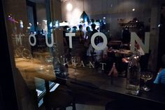 Something new to add to the ever-changing Short North...try Mouton for Tapas and vintage cocktails.