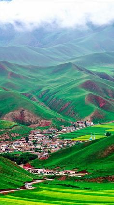 Beautiful landscape of Qinghai. Beautiful landscape of Qinghai in northwest China Places Around The World, Oh The Places You'll Go, Places To Travel, Places To Visit, Around The Worlds, Belle Image Nature, Beautiful World, Beautiful Places, Amazing Places